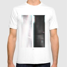 Lights & Speakers (Party Monster) SMALL White Mens Fitted Tee