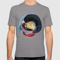 The Abstract Dream 16 Mens Fitted Tee Tri-Grey SMALL