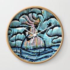 Orixás - Ewá Wall Clock