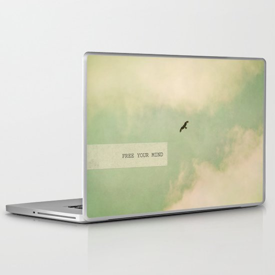 free your mind Laptop & iPad Skin