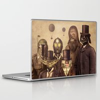 star trek Laptop & iPad Skins featuring Victorian Wars  by Terry Fan