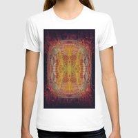 fractal T-shirts featuring Fractal by kira_komandrovskaya