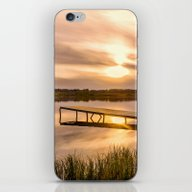 Cold Sunset iPhone & iPod Skin