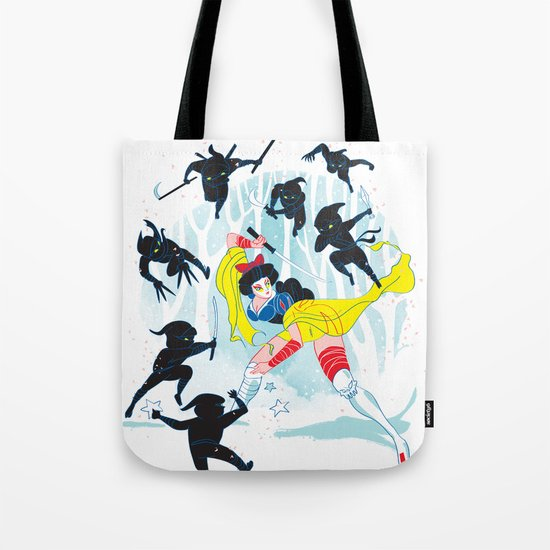 Tales of a Snow Geisha Tote Bag