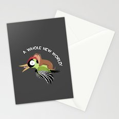 A Whole New World! Stationery Cards