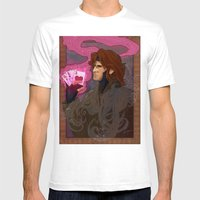 Art Nouveau Thief Mens Fitted Tee White SMALL