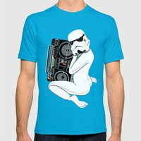 Boombox Trooper Mens Fitted Tee Teal SMALL