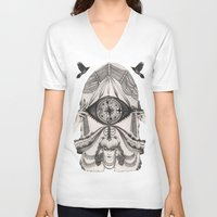 Thoughts Compass Unisex V-Neck