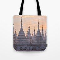 Sandamani Pagoda, Mandal… Tote Bag