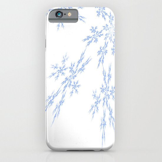 Snowflakes Falling iPhone & iPod Case