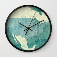 United States Of America… Wall Clock