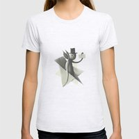 Will die to live Womens Fitted Tee Ash Grey SMALL