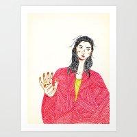 Marker Self v.037 Art Print