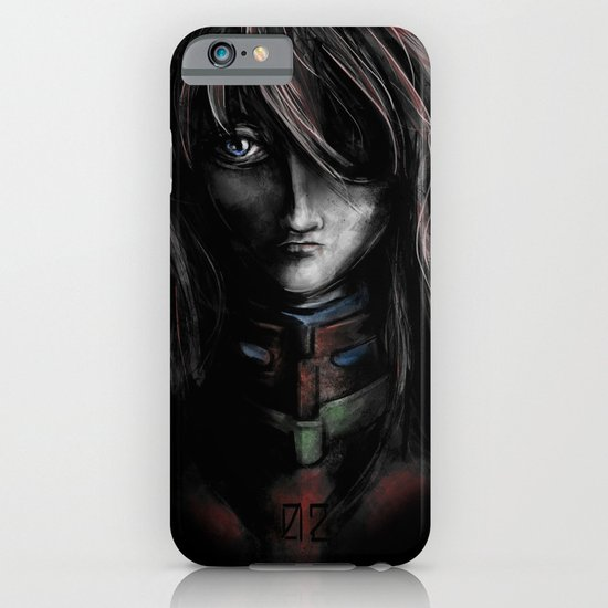 Asuka Langley Soryu Digital Painting Rebuild of Evangelion 3.0 Character Poster iPhone & iPod Case