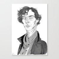 Benedict Cumberbatch - S… Canvas Print