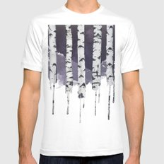 Stardust Mens Fitted Tee White SMALL