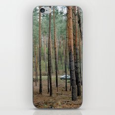 Forest & Car iPhone & iPod Skin