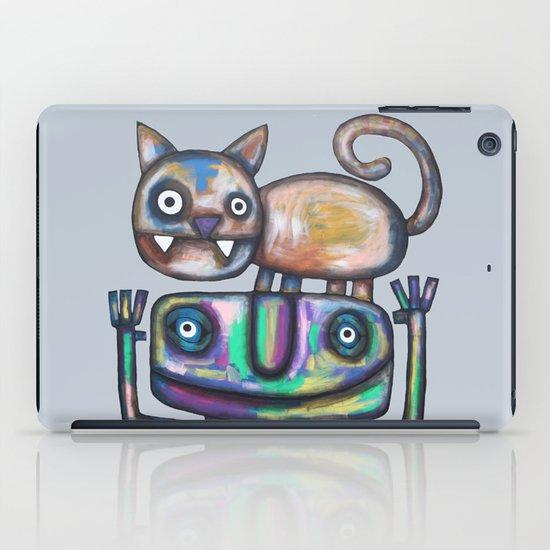 Juggler with Cat iPad Case