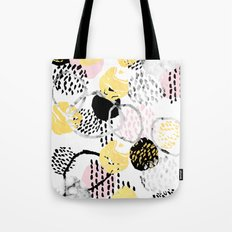 Amalia - Gold Abstract B… Tote Bag