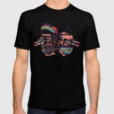 Bass Brothers Album cover  SMALL Black Mens Fitted Tee