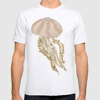 Jelly Paper #2 Mens Fitted Tee Ash Grey SMALL