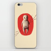 Baby void iPhone & iPod Skin