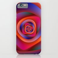 iPhone & iPod Case featuring Pschedelic Spiral by Objowl