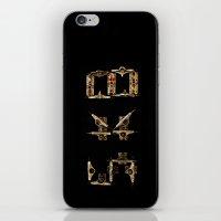 Sk8 Typography iPhone & iPod Skin