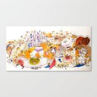 loudpipes Canvas Print