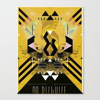::No Disguise:: Canvas Print