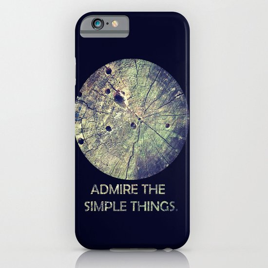 Admire The Simple Things iPhone & iPod Case