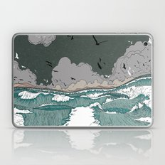 Stormy seas Laptop & iPad Skin