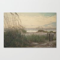 Summer Is Almost Over...… Canvas Print