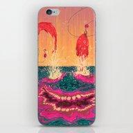 Fisgados iPhone & iPod Skin