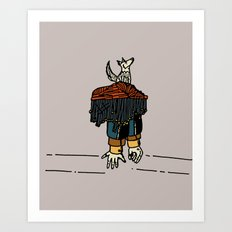 Thy beguiling army Art Print