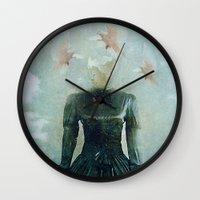 Surrealist Nest Wall Clock