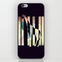 La girafe iPhone & iPod Skin