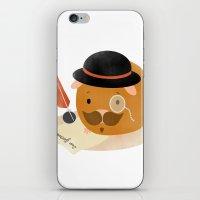 Guinea Pig Portrait 2 iPhone & iPod Skin
