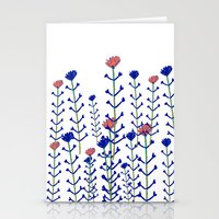 Flowers - Floral - Flowe… Stationery Cards