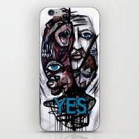 YES bear iPhone & iPod Skin