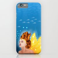 iPhone & iPod Case featuring Mermaid by Dambar Thapa