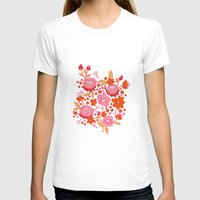 T-shirt featuring Floral Folk by KEEKI // Ali Cattini