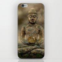 Buddha In The Sand iPhone & iPod Skin