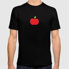 The Essential Patterns of Childhood - Apple Mens Fitted Tee SMALL Black