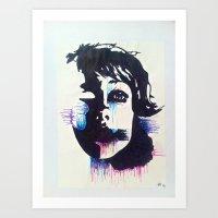 Negative>Positive Art Print