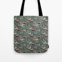 Pet Family Portrait Tote Bag