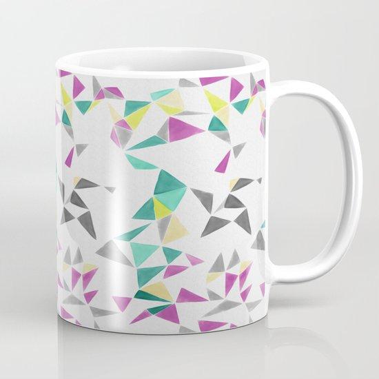 watercolor geometry  Mug