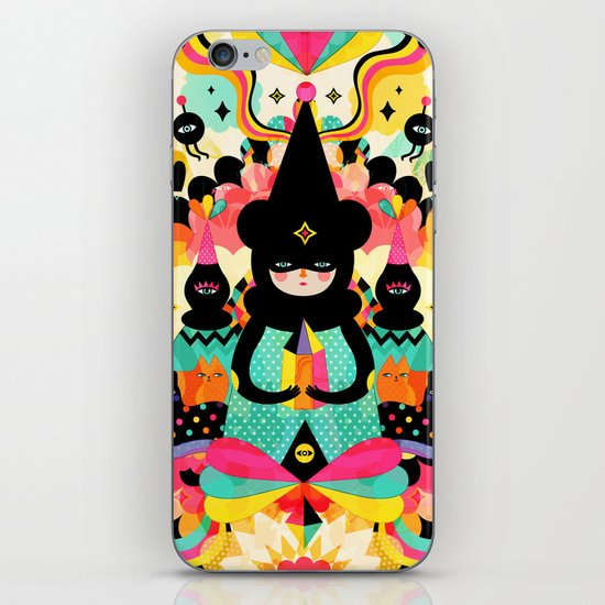 Magical Friends iPhone & iPod Skin