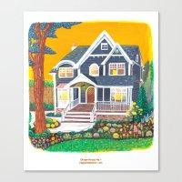 Dream House No.1 Canvas Print