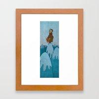 Man of the Mountains Framed Art Print